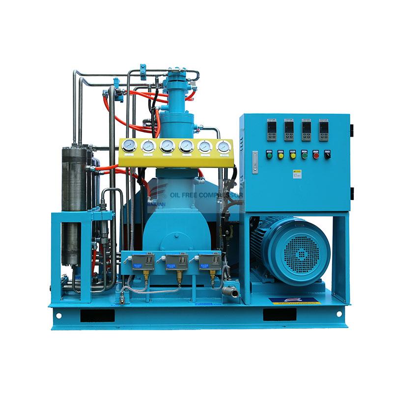 安庆无油压缩机厂_20M3 用于气瓶填充的无油高压氧气压缩机, 瓶装氧气压缩机, 瓶缸 ...
